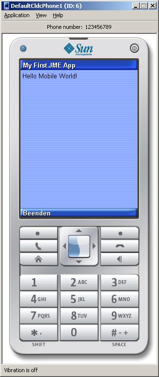 Java ME Emulator