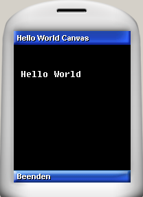 Hello World Canvas